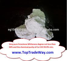 High degree of Calcium Carbonate