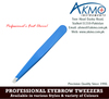 Professional Eyebrow Tweezers/ Wholesale Slanted Tips Tweezers for Eyebrow/ Eyebrow Tweezers