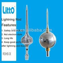 Ball Types Lightning Rod Design lightning terminal mast support