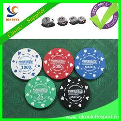 11.5g ABS poker chips print logo roulette poker chip set