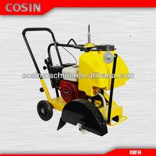 Cosin CQF14 concrete brick cutter, concrete cutter saw,gasoline concrete road cutter