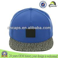 Wholesale Custom Cheap Hiphop 100% Blank Snapback Hats High Quality Cotton Flat Brim 5 Panel Sport Caps