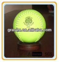 """PVC 12"""" fluorescein softball"""