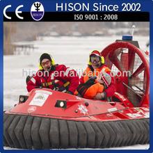 líder de china de la marca pwc hison de rescate aerodeslizador motor eléctrico del tanque