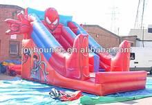 mega used inflatable spiderman slides for sale