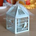 2014 neues produkt! Lasergeschnitten schönes papier handwerk dekorative vogelkäfige hochzeit