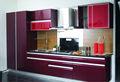 design moderno e alto brilho armários de cozinha da laca com porta