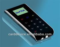 EMV magnetic strip card reader/Mobile chip card reader with keypad