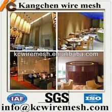 ss/copper decorative room curtain/fashion decorative curtain wall/hot sale decorative wire mesh