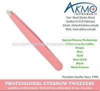 Pink Series Eyebrow Tweezers/ Variety of Styles & Colours Range for Eyebrow Tweezers