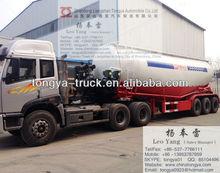 45 cubic meters bulk cement tanker truck