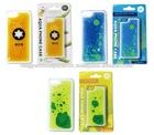 [Wholesale Clearance]Plastic Liquid Oil Mobile Phone Case for iPhone 5, 5s, 5c (Beer / Liquid Blue / Liquid Yellow)