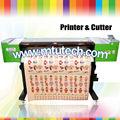 Impresora de corte de vinilo de corte 1440 dpi de interior/al aire libre ecosolventes plotter de inyección de tinta