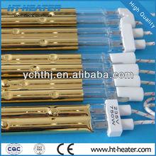 Hongtai 220V infrared short wave twin quartz heater lamp
