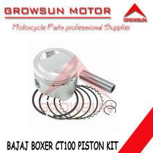 Motorcycle parts Piston Kit for Bajaj Boxer CT100 motorcycle