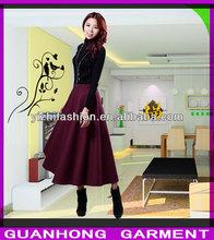 New Fashion Women Large Hems maxi skirt China supplier