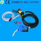 CE certification 12v diesel fuel transfer pump with deliver hose and gun /Electric Transfer Pump Kit