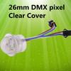 Milky White Cover Programmed 3SMD 5050 26mm RGB LED Pixel Light