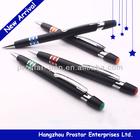 Plastic ballpoint pen, pen for promotion, black