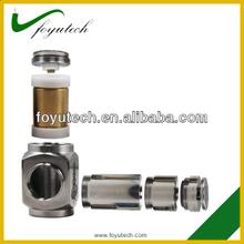 SS mechanical mod hammer one year warranty on battery bagua mod hammer mod electronic e-cigarette