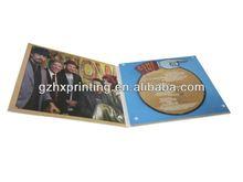 Superior quality dvd paper box