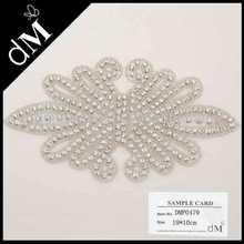 2014 New collection rhinestone applique for ladies DMP0479