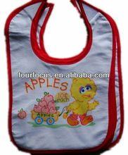2014 hot sell wholesale cotton carter baby bib