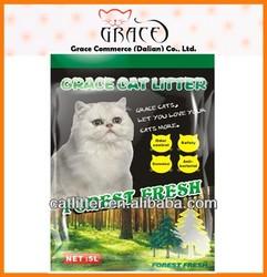 sample free cat product clumping bentonite pet cat product