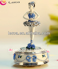 High quality best gift,rotating ballerina music box,musical ballerina