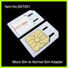 Hot Selling micro sim card holder
