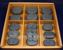 Hot spa item heated basalt massage stone