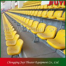 BLM-1817 Manual tribune portable bleachers Retractable grandstand Movable grandstand aluminum sports seating