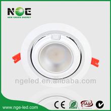 Samsung SMD gimbal led downlight for shop CRI>80Ra20w/28w/38w/48W/60w