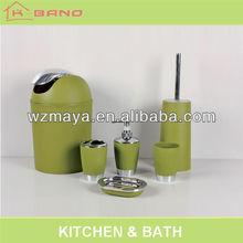 Colour green plastic electroplating bathroom sanitary ware