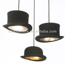 New Modern FABRIC Bowler/Tall Hat Ceiling Light Pendant Lamp Lighting