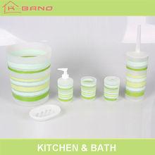 Spring model printed green modern bathroom products