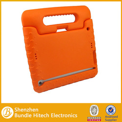 2013 Hot selling case EVA case for iPad mini,stand case with hand holder