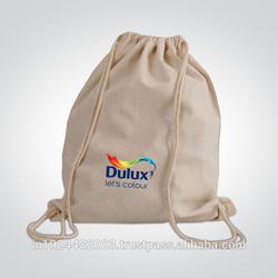 Drawstring Cotton Canvas Bag