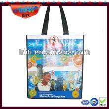 2014 recycled customized logo print pp non woven bag Handbag eco pp non woven bags fashion 2014 simple design pp non woven bag