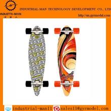 China cheap price penny wooden&bamboo skateboard rapid prototypes plastic skateboard