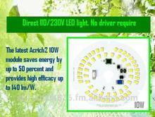 Direct Drive 110/230V LED light. No driver.