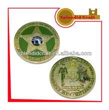 soft enamel school coin craft