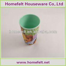2014 Fantastic 4 pieces or 6 pieces rainbow plastic cup set