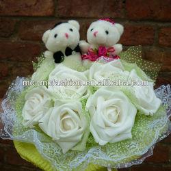 Dressed Teddy Bear Wedding Decoration