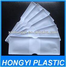 folded ticket cover,vinyl bus card holder,plastic travel wallet