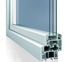 pvc passiv house window