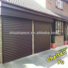 High security remote control roller shutter door for garage