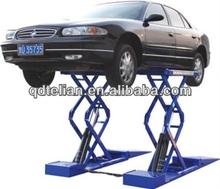Double Level Platform Hydraulic Scissor Car Lift Cheap Washing Hoist Equipment