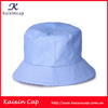 Blue Ladies Cotton Custom High Quality Bucket Hat And Cap/Fashion Wholesale Bucket Caps Short Brim Custom Cap And Hat