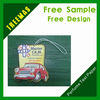 2014 new designs and hot sales car shape paper air freshener